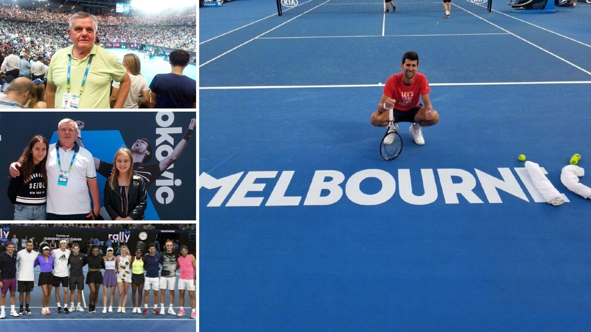 Ivan Mrdjen Australian Open Nocak Djokovic